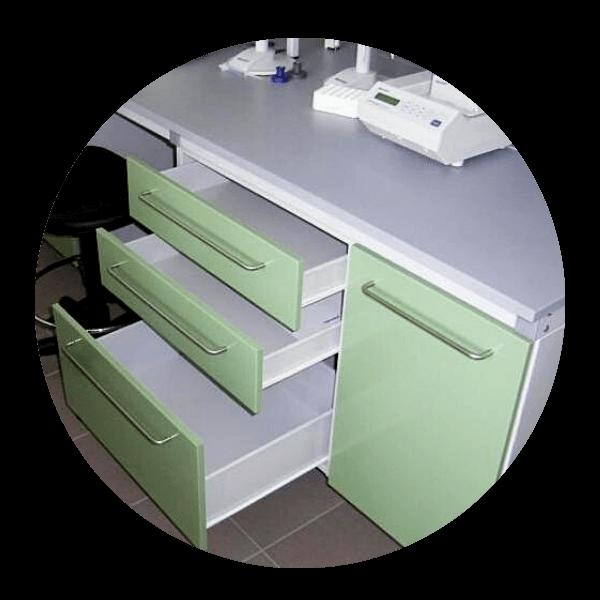 Meble metalowe dcd-lab producent szuflady metalowe
