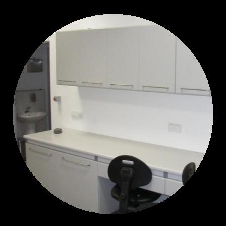 Wyposażenie - meble laminowane od DCD LAB